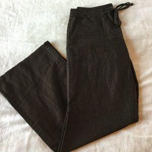 J.Crew Favorite Fit Wide Leg Linen Pants